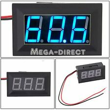#1072  DC 4.5-30V  Digital Display Voltmeter 3Bit Bleu LED Voltage Panel Meter