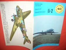 Typy Broni Profileheft TBiU 40, Lisunov Li-2 (russische Dakota C-47)
