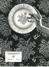 PUBLICITE ADVERTISING  1963   BERNARDAUD  porcelaines service  VALENCAY