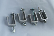 Truck Bed Toolbox Mounting Clamps, 4 clamps, FREE SHIPPING No bed drilling