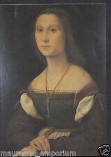 Artist Postcard - Raffaello Sanzio, Ritratto Di Gentildonna (La Muta) RR1382