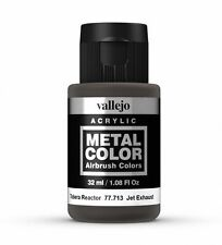 Vallejo Metal Colores-Aerógrafo Pintura-Escape Jet 32ml - 77.713