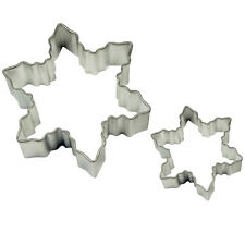 Snowflake Cake And Cookie Cutter Set Of 2 - PME