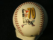 MARK MCGWIRE ST LOUIS CARDINALS 70TH HOME RUN FOTOBALL LIMITED EDITION 5000