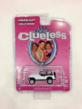 Greenlight Collectibles 1994 White Jeep Wrangler YJ Clueless Movie Pack 1:64