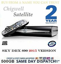 SKY BOX DRX890 500GB SKY PLUS HD BOX BRAND NEW REMOTE 3 MONTHS OLD 2 YR WARRANTY