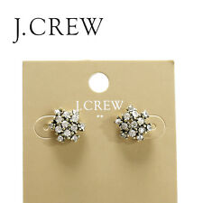 J.Crew Factory cluster earrings Style B3738 NWT $18.50 Set of 2 pieces