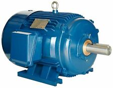 2 hp electric motor 145T 3 phase premium efficient severe duty 3600 rpm 230/460