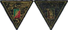 2° Régiment Etranger de Parachutistes, en Tissu, (1237)