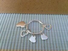 Avon Besotted Silver plated Keyring