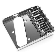 Vintage 6 Saddle Bridge for Tele / Telecaster - Chrome