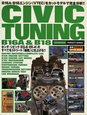 [BOOK] Honda CIVIC TUNING B16A & B18 EG6 EK4 VTEC MUGEN SPOON EG EK Japan