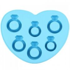 JustForMoo Diamond Ring Ice Cube Mould - BLUE