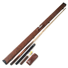 Cuesoul One-PIECE Snooker Cue  With telescopic and Rosewood Extensions and CASE