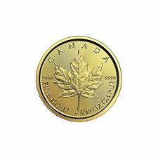 2017 1/10oz Canada Gold Maple Leaf BU