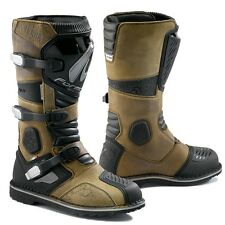 FORMA TERRA Adventure Boots Touring Dual Sport Motorbike Motorcycle Brown