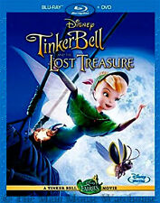 Disney Fairies TinkerBell Tinker Bell And The Lost Treasure Blu-ray & DVD Pack