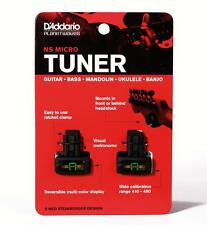 D'ADDARIO/PLANET WAVES PW-CT-12TP NS MICRO HEADSTOCK TUNER - TWIN PACK