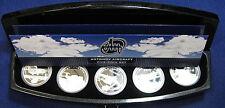 2008 Antonov Aircraft 1oz Silver Proof 5 coin set