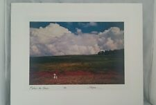 Juan Collignon Hoff Behind The Cloud 1982 Signed Dye Transfer Photographic Print