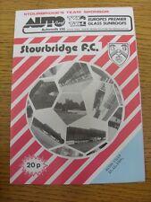10/12/1984 permanentemente v Aston Villa [Birmingham Senior Cup]. artículo parece B