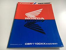 Werkstatthandbuch / Nachtragshandbuch CBR 1100 XX -(X) (GII/SW) (1999) (SC35)
