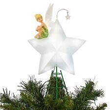 DISNEY 2015 TINKER BELL LIGHT UP TREE TOPPER--NEW