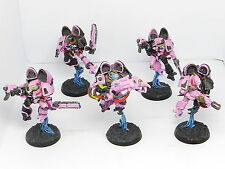 EMPEROR'S CHILDREN RAPTORS  -  Painted Warhammer 40K Chaos Space Marines Army
