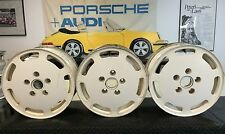 LOT OF 3 NICE USED ORIGINAL GENUINE PORSCHE 928 WHEELS 7JX16
