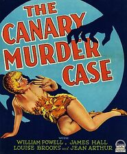 """William POWELL - """"Canary Murder Case"""" - 1st Philo Vance movie from 1929 - DVD"""