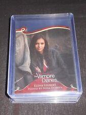 The Vampire Diaries 3 Insert Trading Card #D02 Nina Dobrev