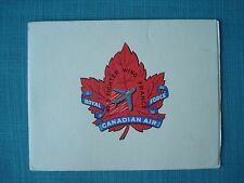 RCAF No. 2 Fighter Wing Grostenquin Moselle France Royal Canadian Air Force card