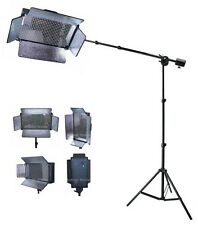 Photography Studio Portrait Boom Led Light Lighting Kit