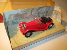 Swallow Sidecar Jaguar SS 100 rot rouge rosso roja red, Matchbox MoY Y-1-G boxed