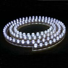 120cm White LED Flexible Neon Strip Light for Car 12V