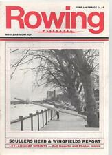 ROWING MAGAZINE - June 1987