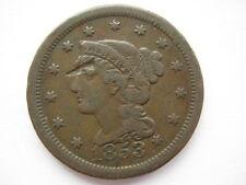 United States 1853 Large Cent NVF