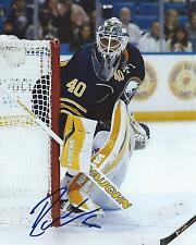 Robin Lehner Signed 8x10 Photo Buffalo Sabres Autographed COA