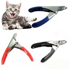 Pet Nail Clippers Claw Toe Paw Trimmer Scissor Grooming Tool for Dogs & Cats