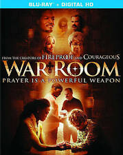 War Room (Blu-ray Disc, 2015, Includes Digital Copy; UltraViolet) NEW