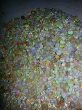 30 pcs 3MM To 5MM NATURAL ETHIOPIAN WELO FIRE OPAL BEADS LOOSE BEADS DRILL BEADS