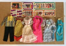 BARBIE KEN Vintage Clothing 1978 Catalog 2303 9738 2218 2550 2234 9720 Dresses
