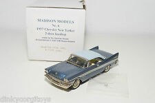 . MADISON MODELS 6 CHRYSLER NEW YORKER 2-DOOR HARDTOP 1957 MINT BOXED