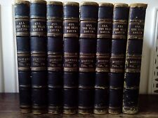 Charles Dickens All The Year Round  8 Volumes