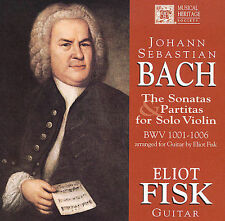 Unknown Artist Bach: Sonatas and Partitas for Solo Viol CD