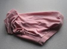 Hunde Pullover Jogger Nicki Pulli Rücken 50-55cm Umfang bis60cm rosa WedelShop
