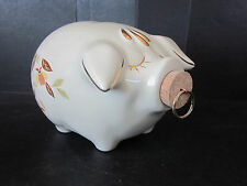 Genuine China Specialties Art Pottery LE Jewel Tea Autumn Leaf Corky Pig Bank