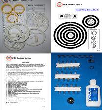 1977 Sonic Mars Trek Pinball Machine Tune-up Kit - Includes Rubber Ring Kit