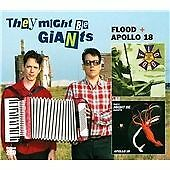 THEY MIGHT BE GIANTS - FLOOD / APOLLO 18 - NEW 2CD DISC SET (2 EXPANDED ALBUMS)