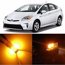 Alla Lighting Turn Signal Light 7440A Amber LED Bulbs for Toyota RAV4 Prius C/V